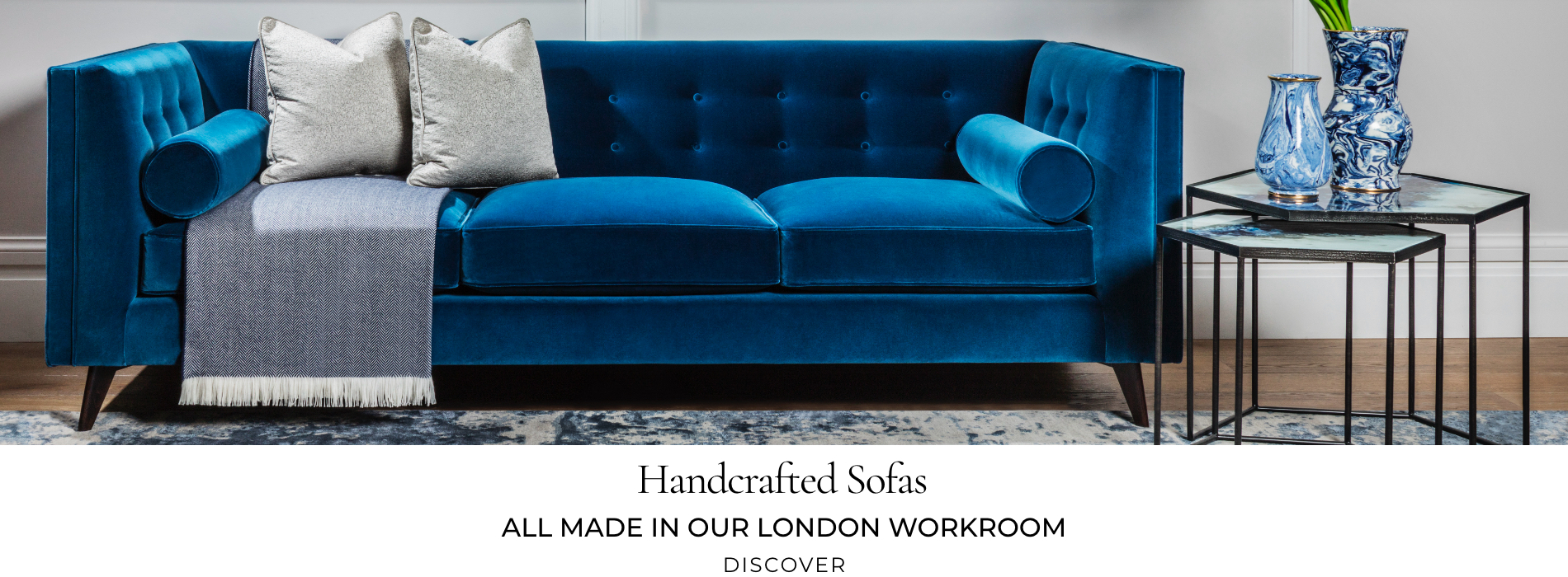 Explore handcrafted sofas
