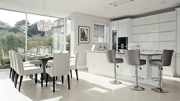 Bar Stools on classic modern homes
