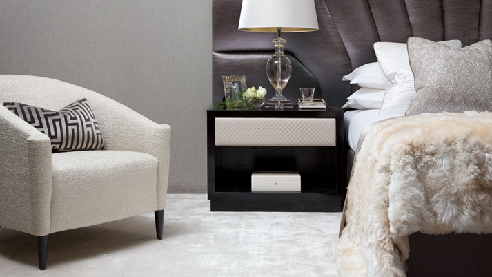 bedroom furniture collection - Chair As Bedside Table