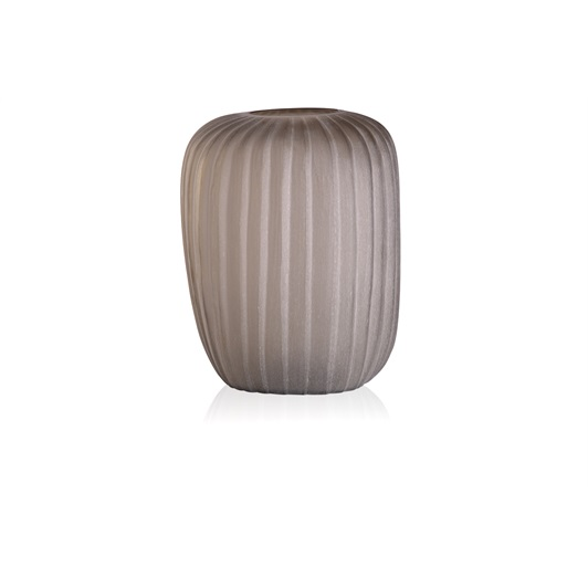 Tall Vase - Smoke Grey