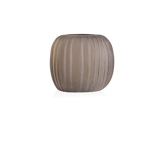 Round Vase - Smoke Grey