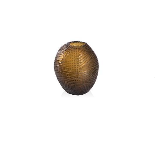 Small Vase - Gold/Indigo