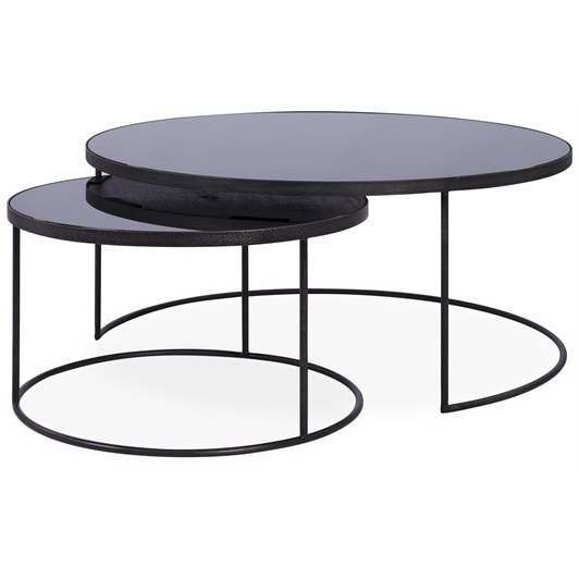 Charcoal Nesting Coffee Tables
