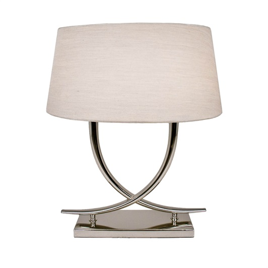 Elphas Silver Table Lamp