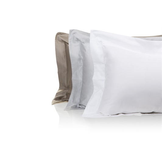 Tempace Jacquard Standard Oxford Pillowcases White