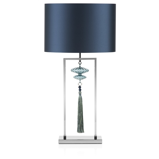 Constance Table Lamp Nickel