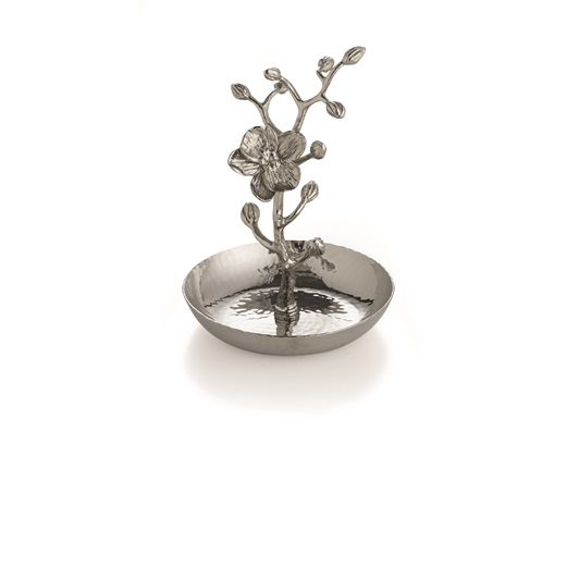 White Orchid Ring Catch