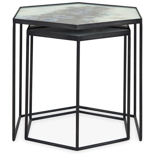 Hexangonal Nesting Table
