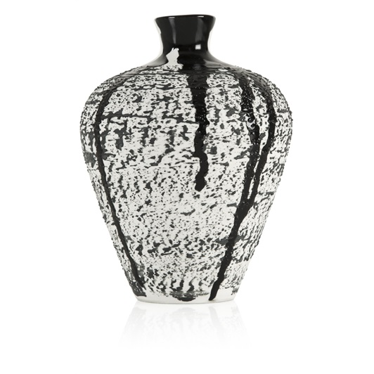 Magma Small Textured Vase (Black)