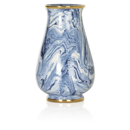 Marble Tapered Vase