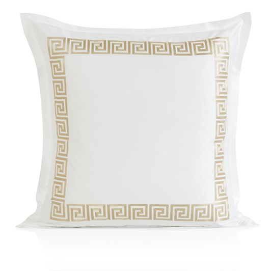 Athena Oxford Pillowcase - Metallic Stone