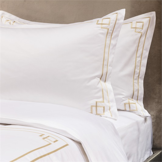 Hera Duvet Set Superking - Metallic Stone