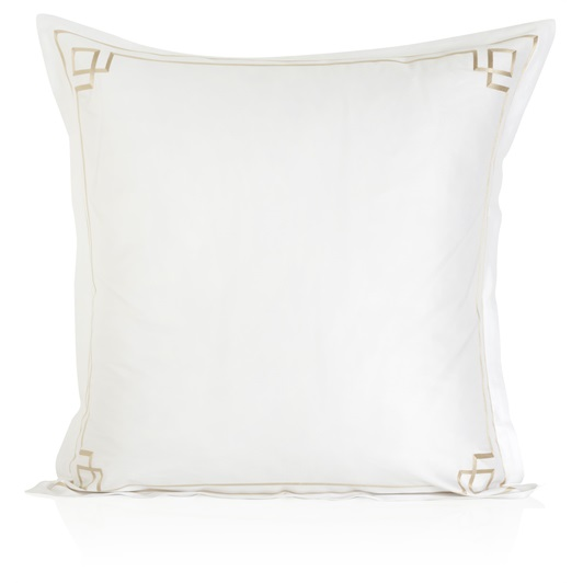 Hera Oxford Pillowcase - Metallic Stone