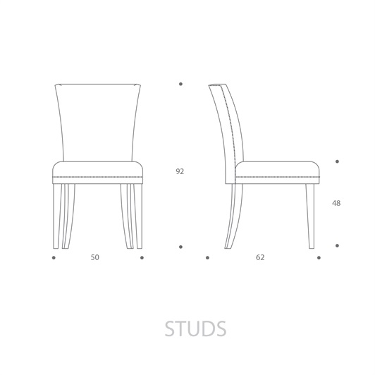 Dining Chair - Studs