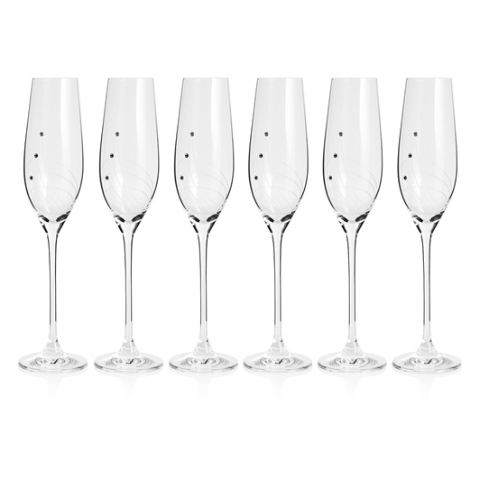 Set of 6 Champagne Glass
