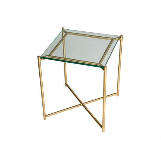 Side Table - Brushed Brass