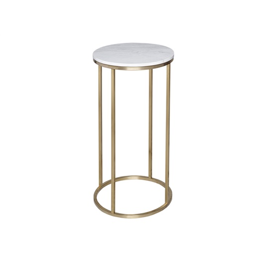 Circular Pedestal - Brushed Brass