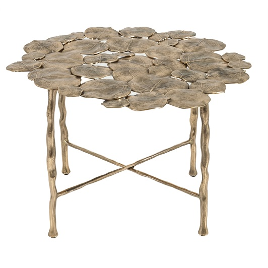 Side Table - Cast Brass
