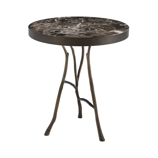 Side Table Bronze Finish