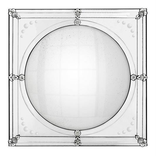 Antique mirror glass/ convex mirror