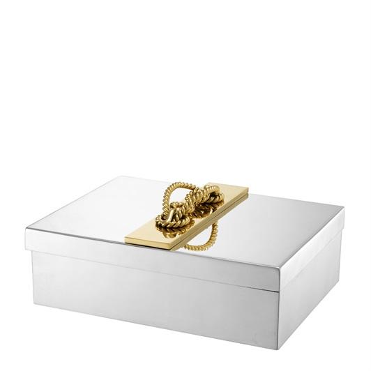 Issoire Jewel Box Nickel finish, gold detail