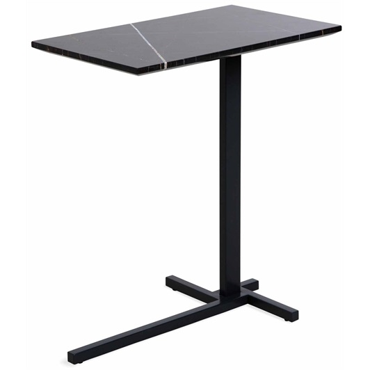Rectangular Side Table Dark Grey