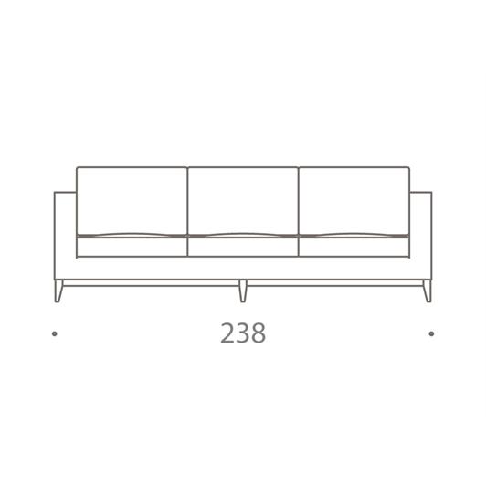 Hockney 3 Seater Sofa