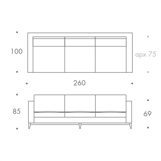 3.5 Seater Sofa