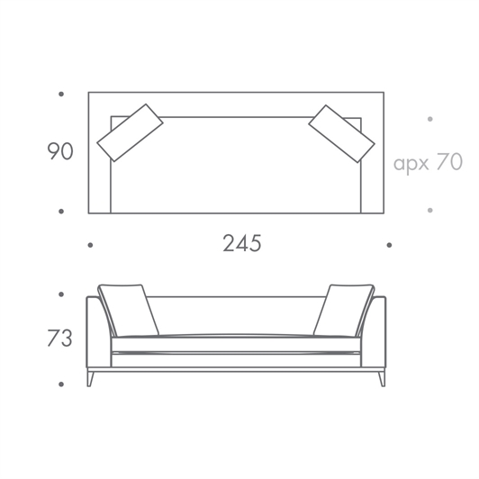 Bespoke 3.5 Seater Sofa
