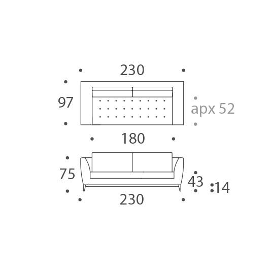 2.5 Seat Sofa